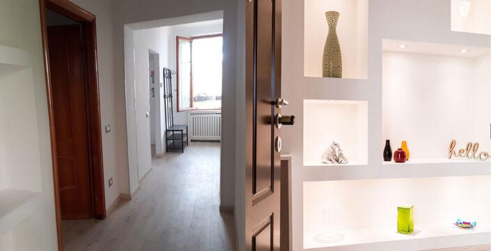 Prima e dopo: Appartamento via Plinio 34 Milano